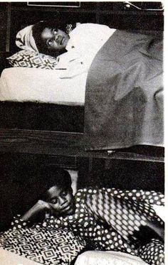 Michael Jackson - rare photo (he is on top)