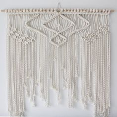 Large 'Lazy Dayz' Macrame Wall Hanging