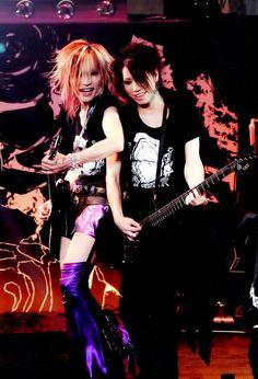 Uruha & Aoi - The GazettE