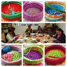 Baskets workshop mini crochet