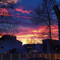 #sunsets #barcelona #poblenou ... #sunset #puestadesol #atardecer