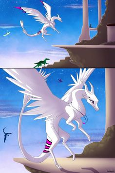Kingdoms- page 13 by Verasaii on DeviantArt Mythical Creatures Art, Fantasy Creatures, Dragon City, Dragon Artwork, Dragon Drawings, Dragon Zodiac, Desenhos Love, Wings Of Fire Dragons, Japanese Poster Design