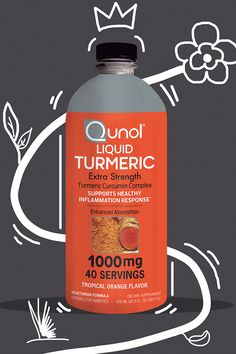 Nature's best kept secret, brought to you. Qunol Liquid Turmeric contains antioxidants that support joint health and healthy inflammation response. All in a delicious tropical orange flavor! Healthy Drinks, Get Healthy, Healthy Skin, Health And Beauty, Health And Wellness, Health Tips, Health Foods, Turmeric Water, Essential Oils