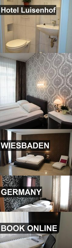 Hotel Hotel Luisenhof in Wiesbaden, Germany. For more information, photos, reviews and best prices please follow the link. #Germany #Wiesbaden #HotelLuisenhof #hotel #travel #vacation