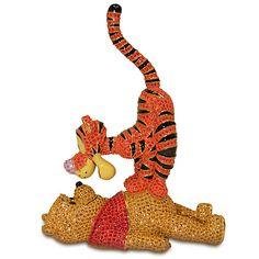 Winnie the Pooh and Tigger Figurine by Arribas Brothers | Figurines & Keepsakes | I soooo want this!