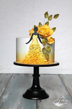 Yellow petals by Lorna