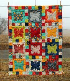 Craftsy: Butterflies for Vivi Applique Templates