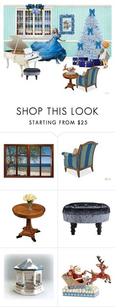 """Christmas at the Beach"" by bamasbabes ❤ liked on Polyvore featuring Michael Amini, Buccellati and Jim Shore"