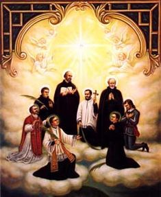 Sts. Isaac Jogues and Rene Goupil - Saints & Angels - Catholic Online.  Feast Day October 19th.