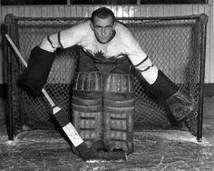Paul Emile Bibeault Hockey Goalie, Hockey Players, Ice Hockey, Toronto Maple Leafs, Nhl, The Past, Winter Jackets, 1930s, Masks