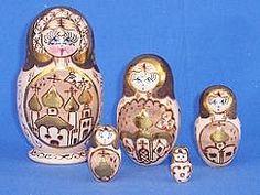 5Pc. Small Russian Doll Set $11.99