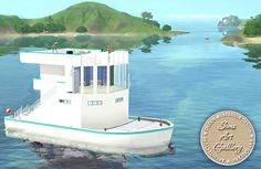 Nautilus swimming boat http://www.sims-artgallery.net/en/gallery/sims-3/lots/residential-lots/small/1512/