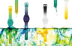 NIXON: The Time Teller P Dip-Dye Collection, New from Nixon