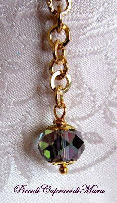 Piccoli Capricci: Perle, Cristalli e... Bracciale ;-)
