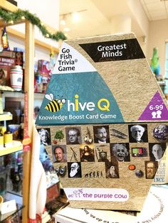 Perfect gift for the trivia lover! Available at the Excavations museum store inside the Sam Noble Oklahoma Museum of Natural History in Norman, Oklahoma!
