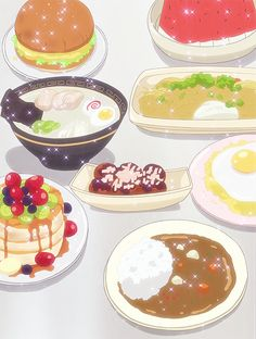 Why does anime food always look more appetizing than real food?!