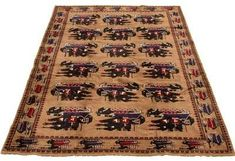 """One-of-a-Kind Shartlesville Hand-Knotted 6'3\"""" x 9'4\"""" Wool Tan Area Rug Isabelline #Sponsored , #sponsored, #Shartlesville#Kind#Knotted Office Supplies List, Knots, Bohemian Rug, Area Rugs, Wool, Unique, Pattern, Rugs, Patterns"""