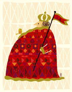 王と鳥 | tomoko suzuki