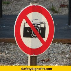 Our custom prohibition safety signs are a great solution for you! Chicago Cubs Logo, Team Logo, Philippines, Safety, Signs, Photography, Art, Security Guard, Art Background