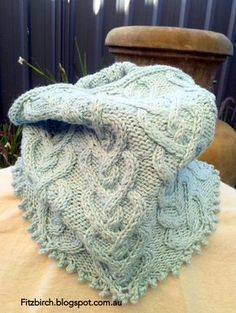 Picot Hearts Neck Warmer cowl -- free knitting pattern