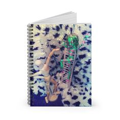 Spiral Notebook - Ruled Line School Notes, Back To Black, Line, Spiral, Notebook, Prints, School Grades, Fishing Line, School Notebooks