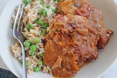 Crockpot Chicken Thais (peanut salsa chicken)