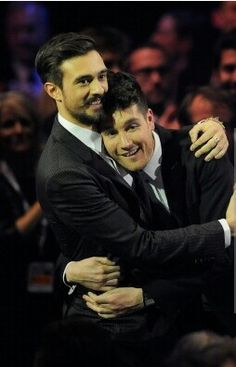 Best moment :) I also thought it loved how these were hugging each other as they walked up to receive the award