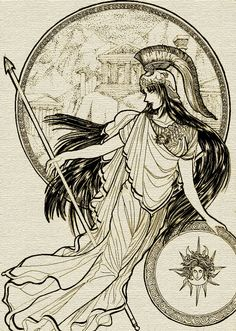 This image represents war. This is Athena the Greek goddess of war. I found it interesting that she was female and the symbol of war. This relates to the play because the women were holding a war themselves against the men, withholding sex from them and therefore controlling the outcome of the literal war the men were waging.