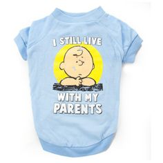 "Peanuts® ""I Still Live With My Parents"" Tee 