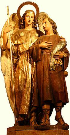 San Rafael Arcangel... Catedral de Valencia, España /