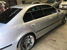 Ceramic Coating on Silver BMW M5 E39 by Wicked Auto Detailing in Huntington Beach CA