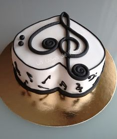 Cupcakes Fondant Musica 53 Ideas For 2019 Fondant Cupcakes, Cupcake Cakes, Music Themed Cakes, Music Cakes, Beautiful Cakes, Amazing Cakes, Violin Cake, Bolo Musical, Music Note Cake
