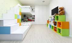 room for kids modern apartment interior design Ikea Design, Modern Apartment Design, Modern Interior, Modern Luxury, Modern Design, Minimalist Nursery, Cool Kids Rooms, Kids Room Design, Room Pictures