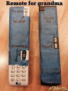 Remote For Grandma