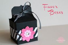 #Treat #Favor Box from Sweet Rose Studio