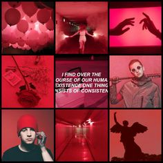 Requested! Red Tyler Joseph moodboard (my edit)