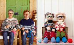 """Designer-Duo Arne und Carlos: """"Stricken? Immer und überall!"""""""