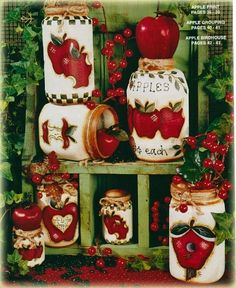 tole painted apples - Bing Images