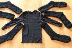 Spider costume – Halloween – Home crafts Toddler Spider Costume, Spider Halloween Costume, Bug Costume, Costume Ideas, Diy Costumes, Halloween Kostüm Baby, Diy Halloween Costumes For Kids, Pretty Halloween, Homemade Halloween
