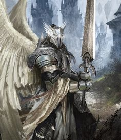 Mighty Angel Warrior