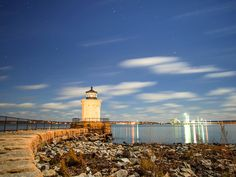 Landscape photos can make a scene truly wonderful when done right. This is the bug lighthouse in Portland Maine. Looking forward to the Grand Canyon in a couple weeks!  #lovemyjob #landscapephotography