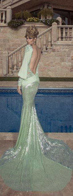 Glamorous Oved Cohen Evening Dresses 2014 - Be Modish Estilo Fashion, Fashion Moda, Evening Dresses, Formal Dresses, Wedding Dresses, Dresses 2014, Glamour, Beautiful Gowns, Beautiful Beautiful