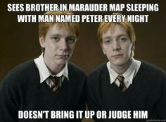 I'm sure he wasn't actually sleeping with him, but he would have been in his bedroom...