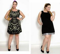 Vestidos Curtos Plus Size