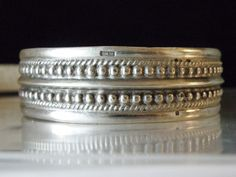 Bedouin Sinai Sterling Silver Cuff Ottoman Tughra Egyptian Hallmark Bracelet  #Ottomanturghra