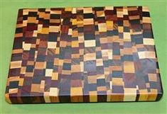 Thanagan's high quality Chaotic - Eclectic cutting boards are high quality end grain cutting boards and will be admired for years to come. These boards are awesome. End Grain Cutting Board, Butcher Block Cutting Board, Bowl Turning, Wood Supply, Sandwich Board, Pen Blanks, Wood Crafts, Hardwood, Woodworking