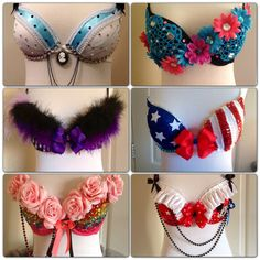 CREATE YOUR OWN Rave Bra