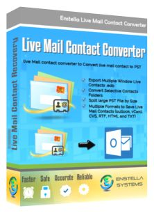 Wonderful Live Mail Contacts Recover Tool is the amazing technique to recover Window live Mail Contacts. edb to PST without harm ant contacts. This software gives the preview option to during recovery. This superb and simple Live Mail Contacts Converter Software support whole window versions like as: - win 7, win 8, win 8.1, win 10, win vista and win XP etc.