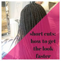 Short Cuts: How to Get the Look Faster Studio86Salon #haircare #shorthair #naturalhair
