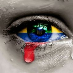GloBeat Music of Venezuela. In memory of the victimes of the Maduro regime! Frida Art, Countries And Flags, Protest Art, Equador, Anime Fantasy, Eye Art, Its A Wonderful Life, Wonderful Places, Beautiful Places